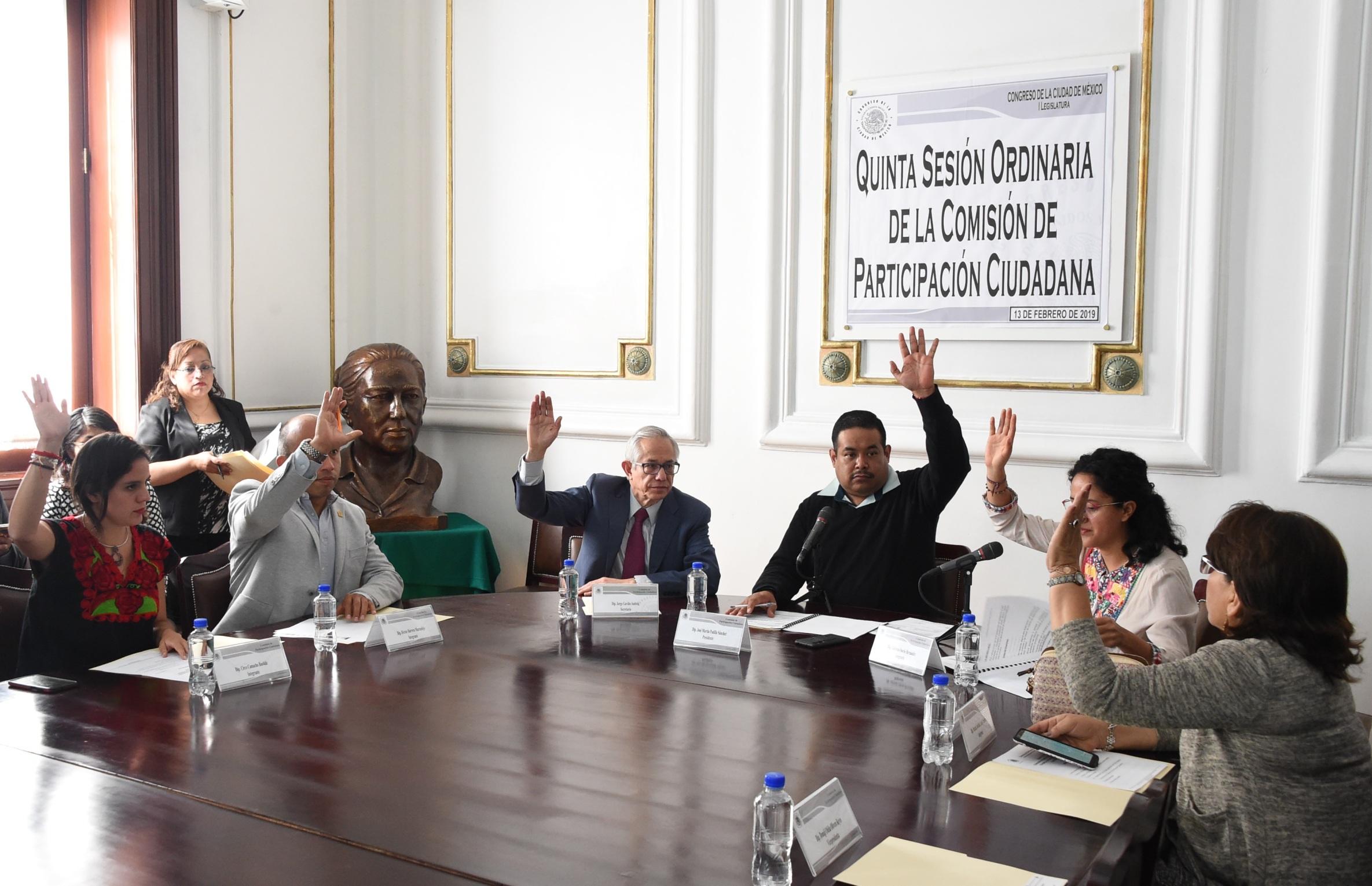 Avanza en comisión del Congreso CDMX la elaboración de la ley de Participación Ciudadana