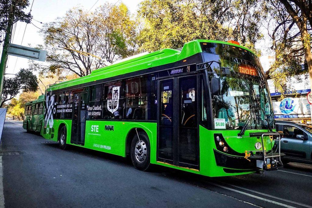 Moderniza el Gobierno Capitalino la red de transporte de pasajeros con la adquisición de 200 nuevos autobuses en 2019