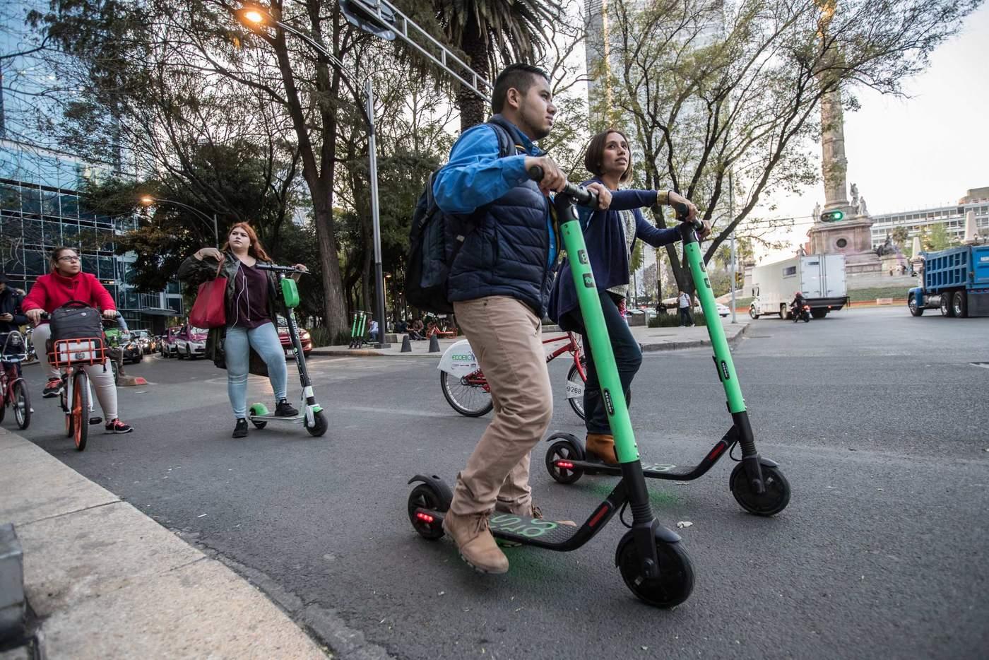 Da a conocer Gobierno Capitalino regulación a transporte concesionado, Monopatines y de Bicicletas sin anclaje