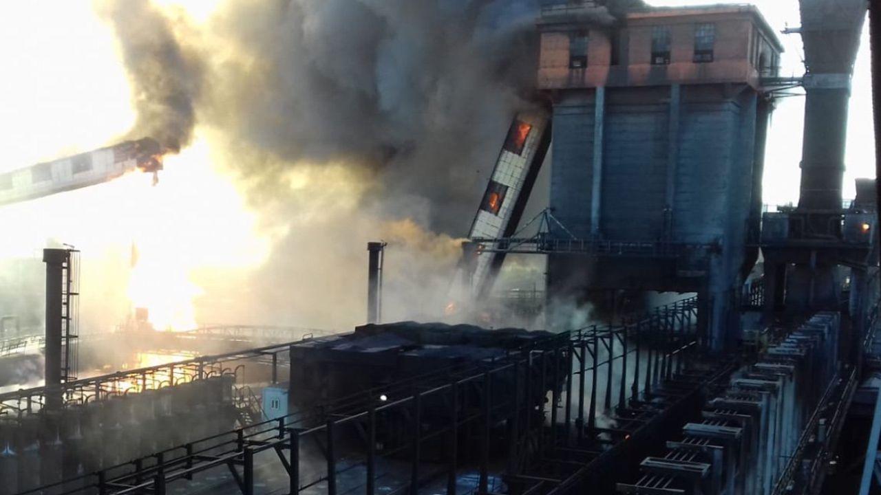 En Michoacán se registra fuerte explosión en siderúrgica