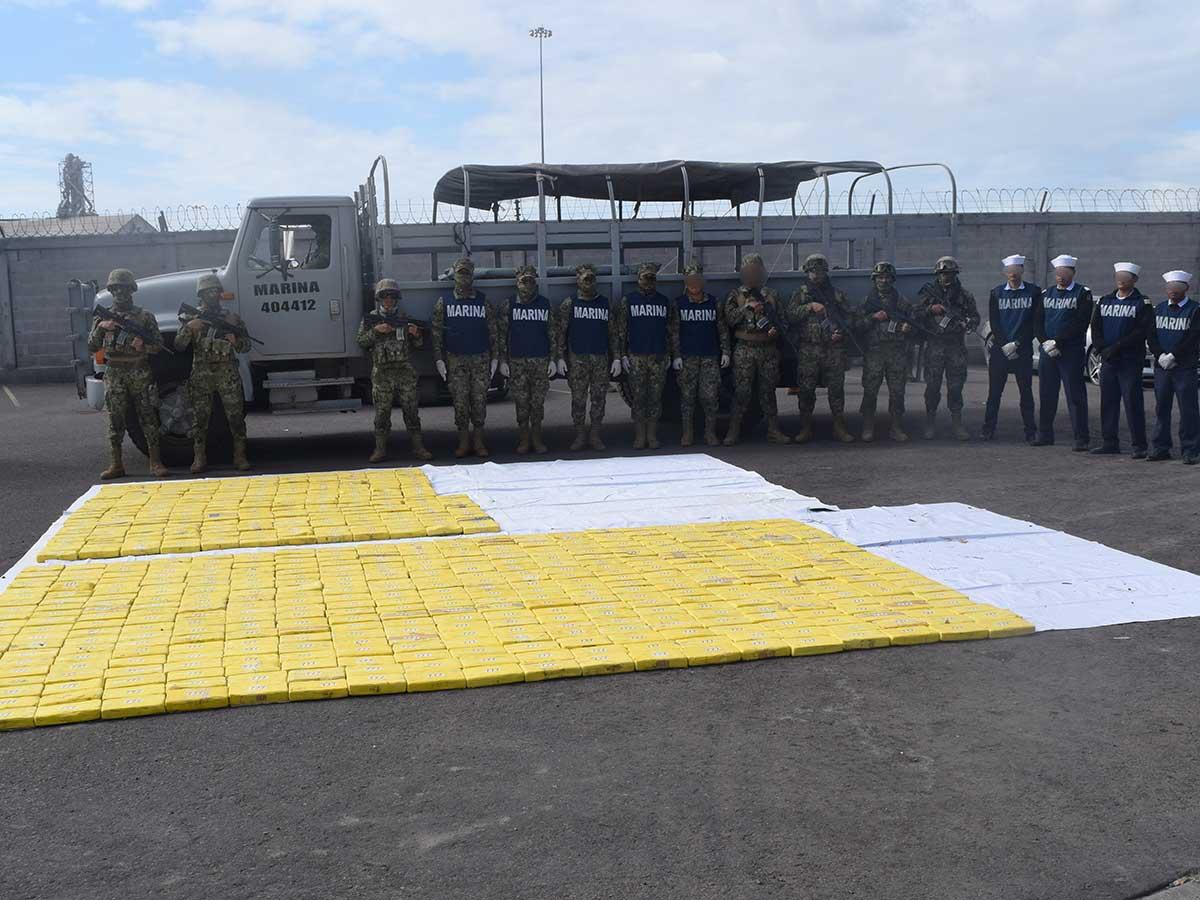 Decomisan más de 600 kilos de cocaína en Sinaloa