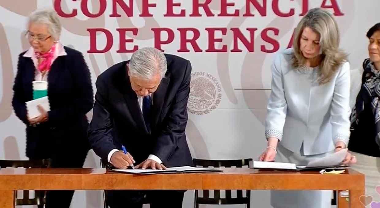 Firma AMLO convenio con la ONU por termoeléctrica