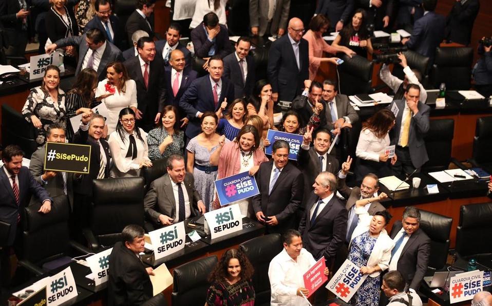 Aprueba Senado por unanimidad Guardia Nacional