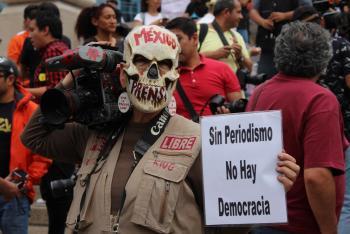 Detienen a hombre por amenazas a periodista en Veracruz