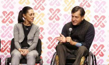Entrega Gobierno de la Ciudad de México, los primeros 60 de 600 apoyos técnicos a personas con discapacidad