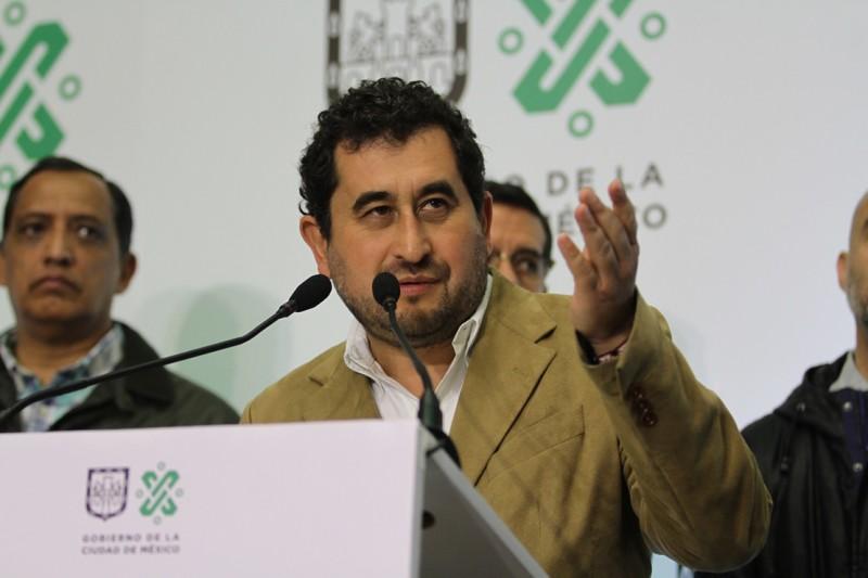 Sostiene el Gobierno Capitalino acciones para dar continuidad a los trabajos de reconstrucción de la capital del país