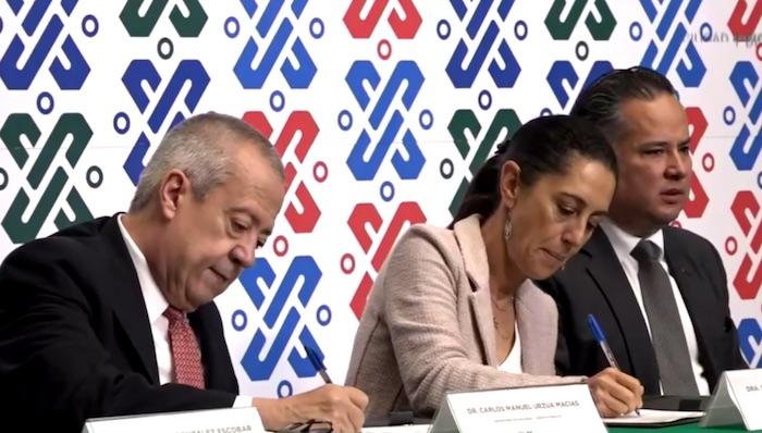 Firman Gobierno de la Ciudad de México y CEPAL convenio de colaboración para abatir la desigualdad en la Capital del País