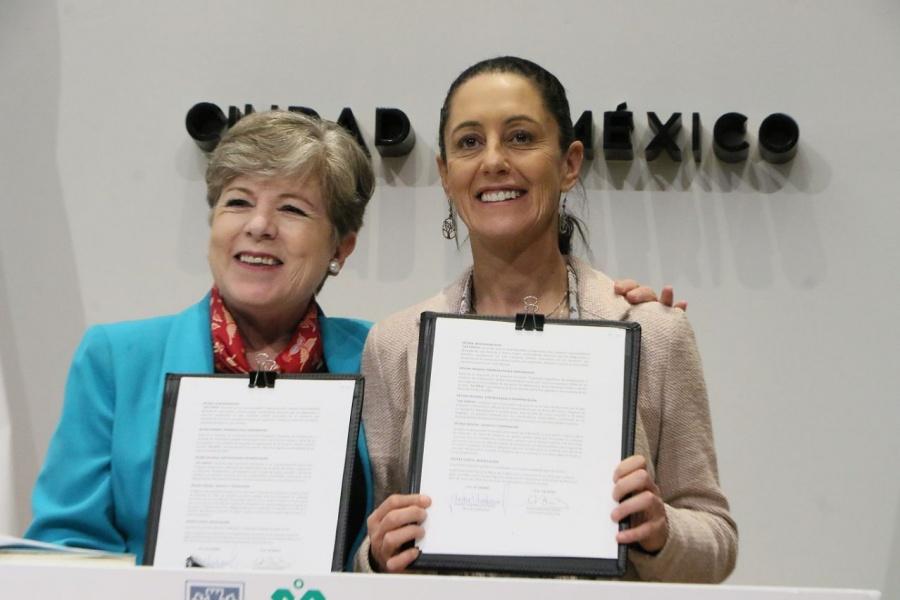 Sheinbaum y Cepal se unen para erradicar pobreza
