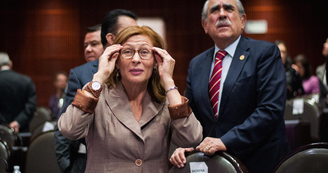 Tatiana Clouthier va por reducción de presupuesto para partidos políticos