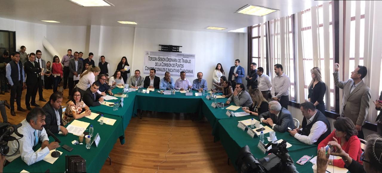 Avalan en comisiones del Congreso CDMX reforma constitucional para ampliar delitos que ameritan prisión preventiva