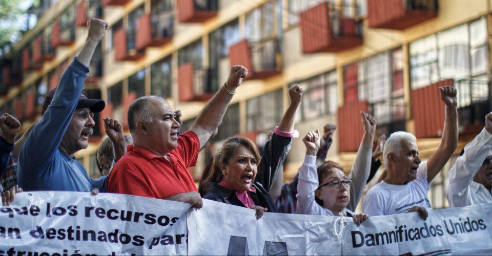 Firma Gobierno de la Ciudad de México acuerdo para la reconstrucción de las viviendas de Damnificados Unidos