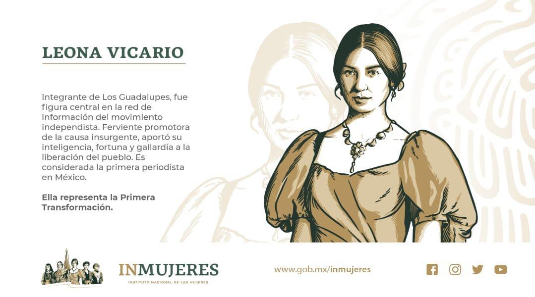 Leona Vicario, primera periodista en México
