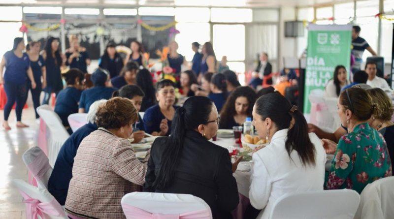 Celebra la Jefa de Gobierno el Día Internacional de la Mujer en el Centro Femenil de reinserción social de Tepepan