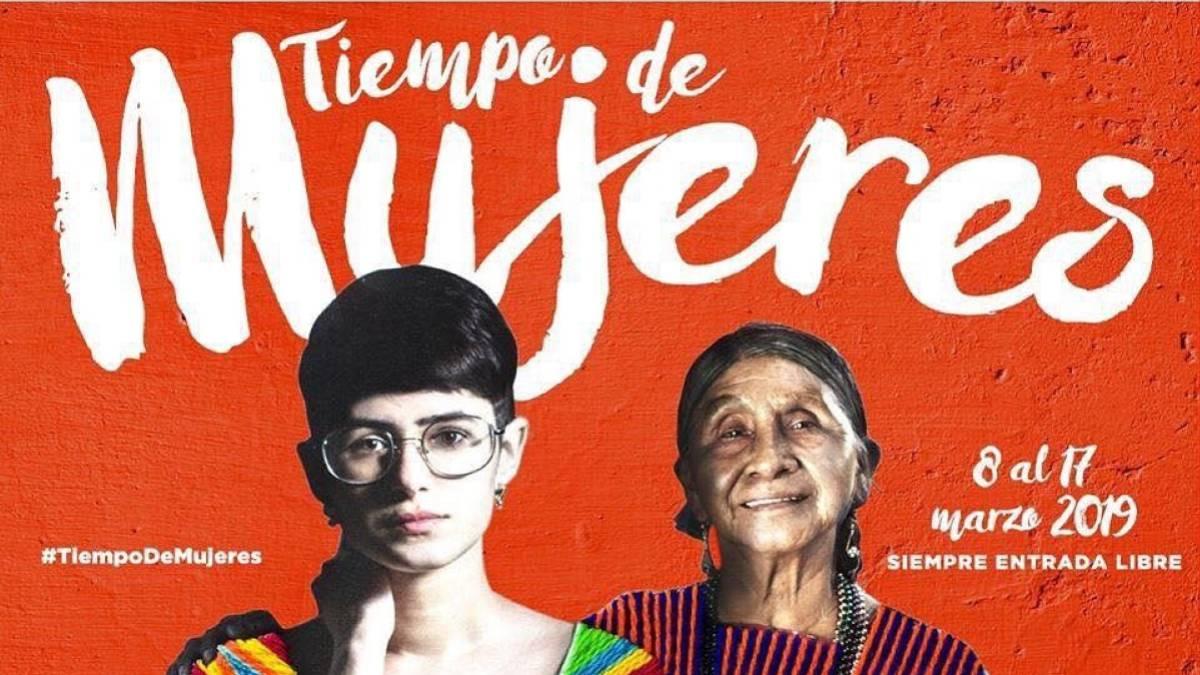 Inicia el Festival Tiempo de Mujeres para promover los derechos y la equidad de género en la Ciudad de México