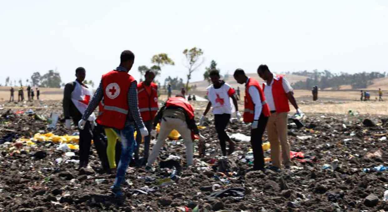 Alrededor de 157 muertos tras avionazo en Etiopía