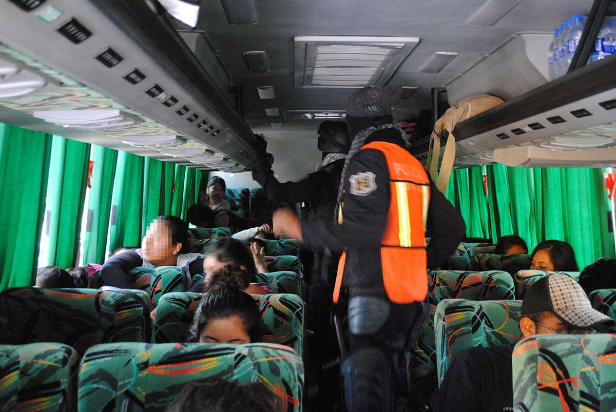 Secuestran a pasajeros de autobús en Tamaulipas