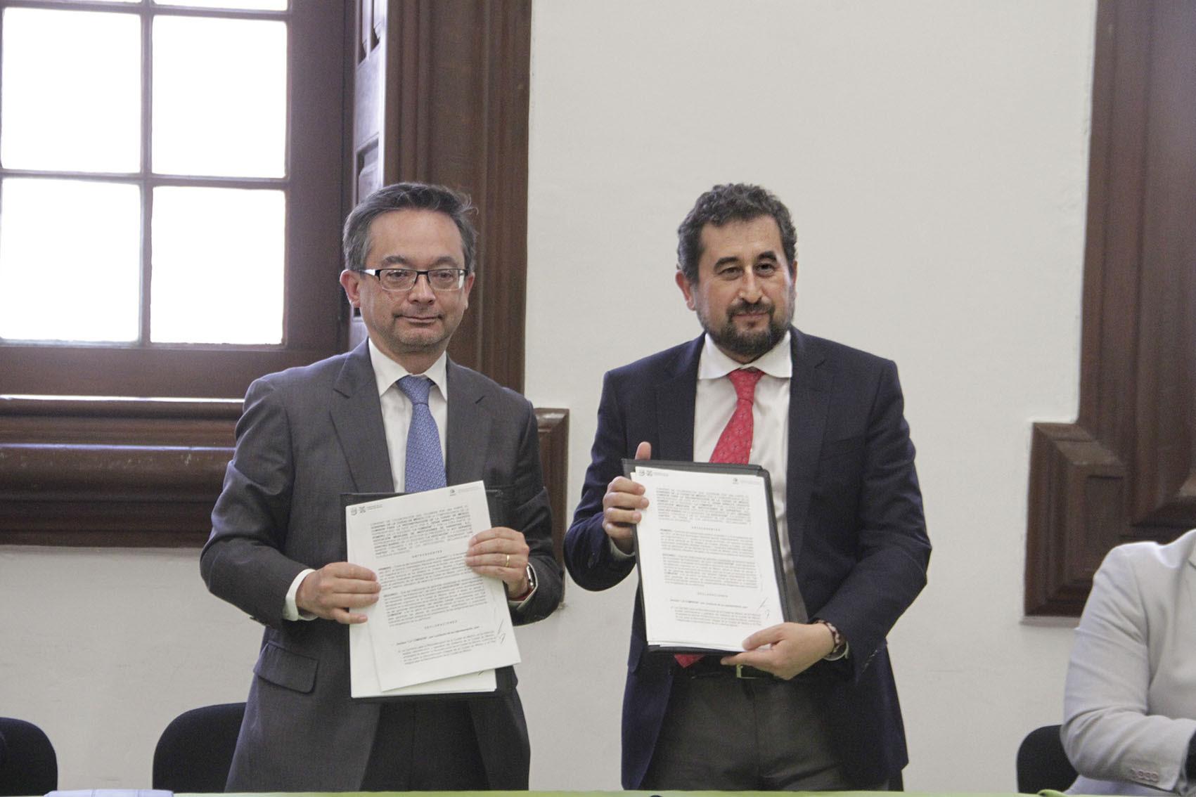 COMISIÓN y AMIG firman convenio para el proceso de reconstrucción de la Ciudad de México