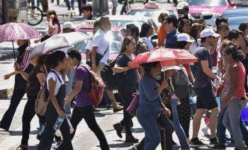Emiten Alerta Amarilla por pronóstico de temperaturas altas en nueve Alcaldías de la Ciudad de México