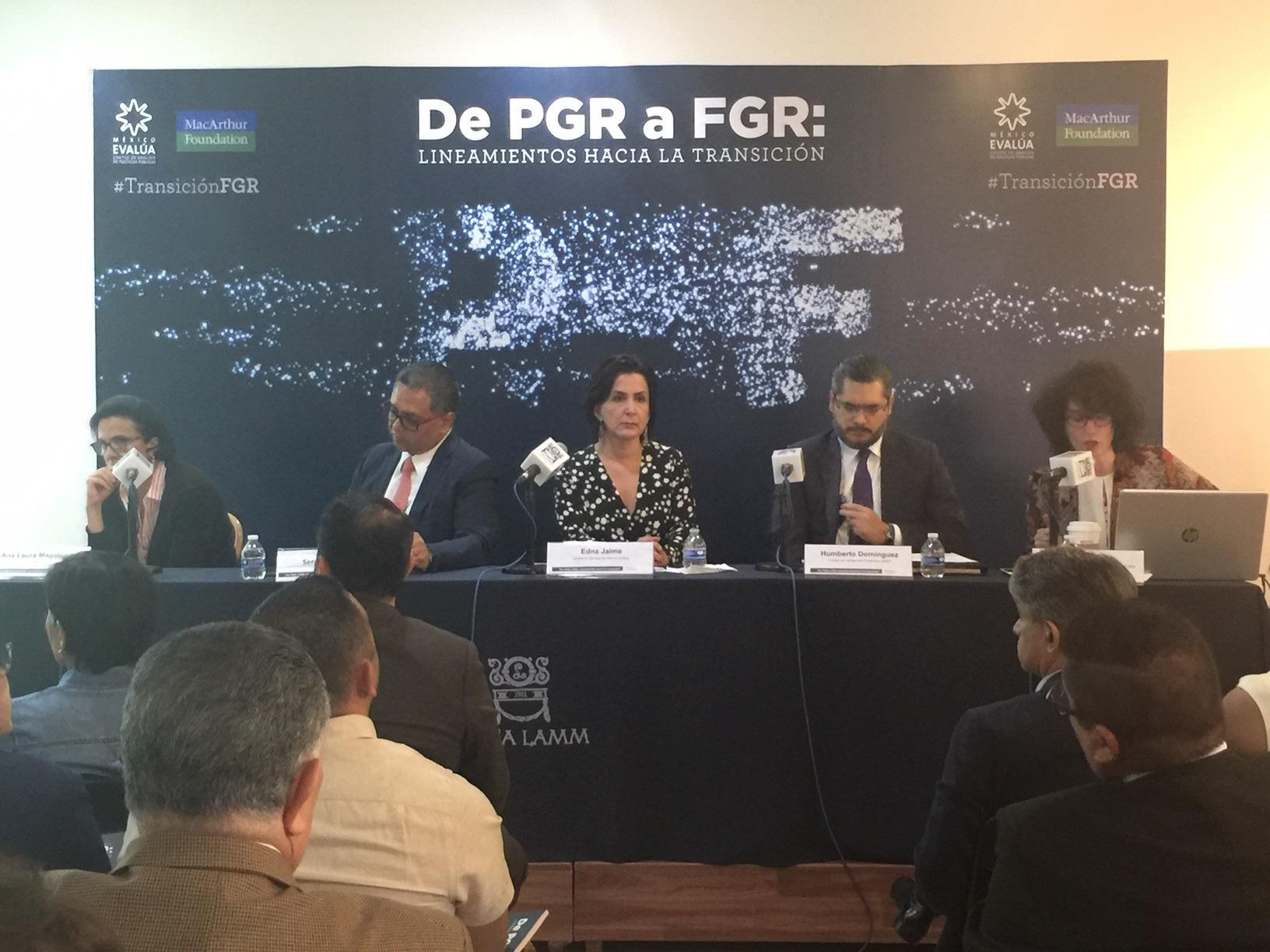 FGR tardará 13 años en resolver el rezago de transición: México Evalúa