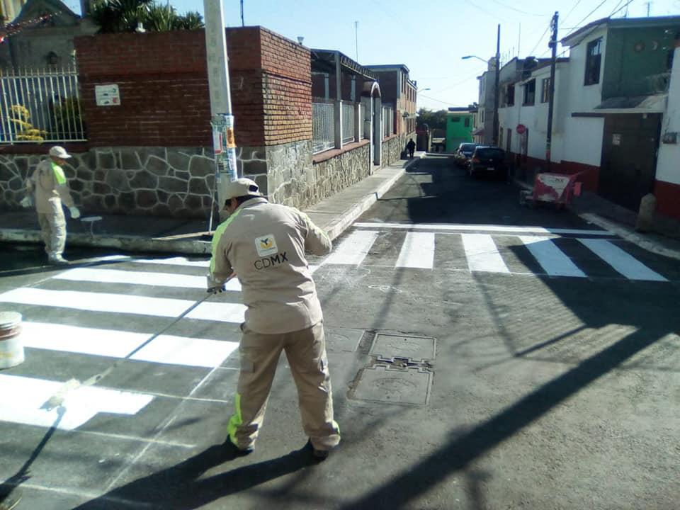 Alcaldía de Cuajimalpa trabaja para mejorar su imagen urbana