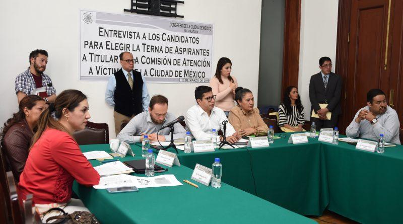 Continúan entrevistas a candidatos de la Comisión de Víctimas