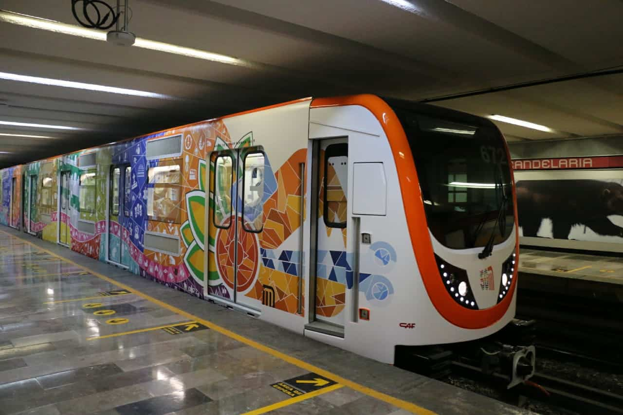 En operación nuevo tren en L2 del Metro