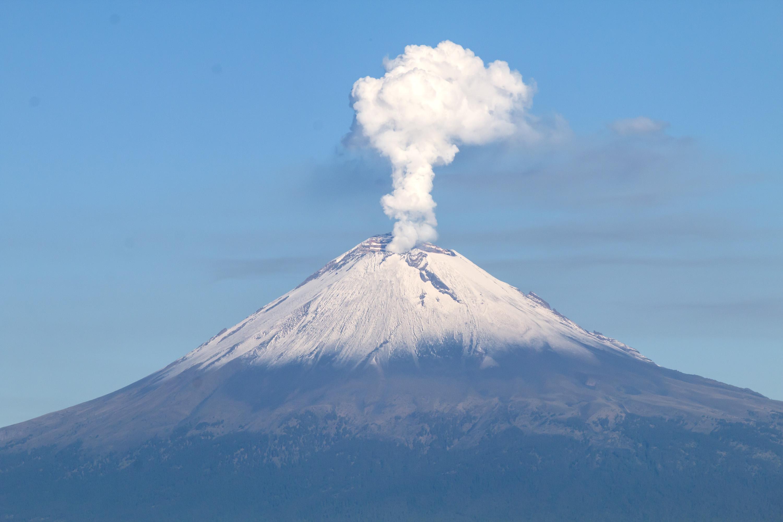 En fase 2 alerta del Popocatépetl