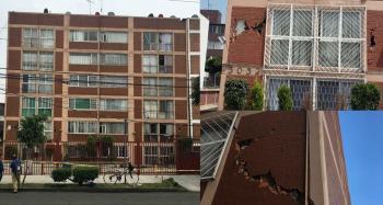 Entrega Gobierno de la Ciudad de México rehabilitación de inmueble habitacional en prolongación Uxmal 1115