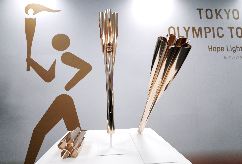 Presentan antorcha olímpica Tokio 2020
