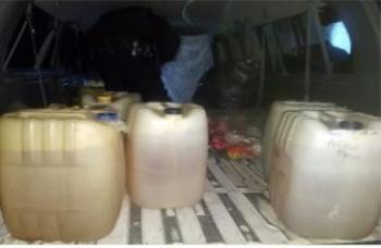 Por el delito de venta de combustible en la GAM, tres personas fueron detenidas por polícias de la SSC