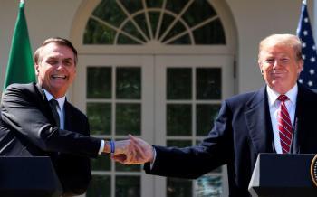 Trump y Bolsonaro se reúnen en la Casa Blanca