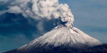 Sin riesgo por erupción del volcán Popocatépetl