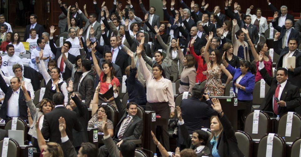 Diputados faltistas en el Congreso capitalino
