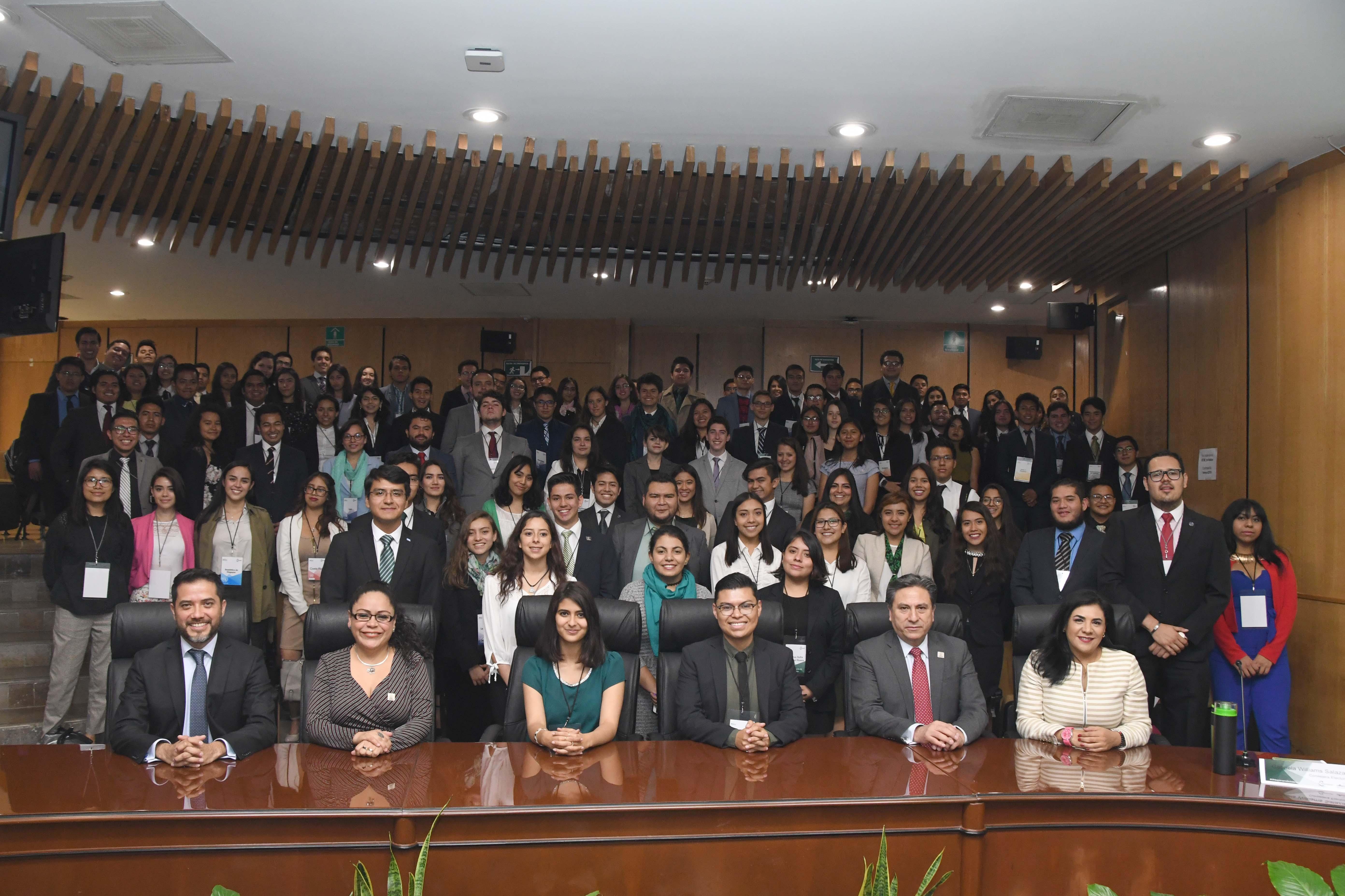 Inaugura IECM tercera edición de Debate Juvenil del Modelo de Naciones Unidas INMUN 2019