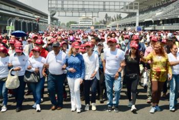 Promete Sheinbaum Pardo regresar el Deportivo Magdalena Mixhuca a la Alcaldía Iztacalco