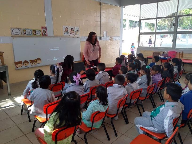 Continúa Xochimilco creando conciencia en estudiantes