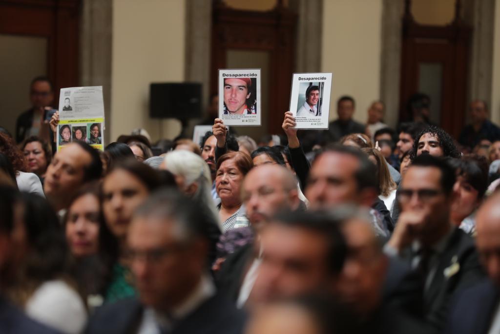 No habrá techo presupuestal para búsqueda de desaparecidos