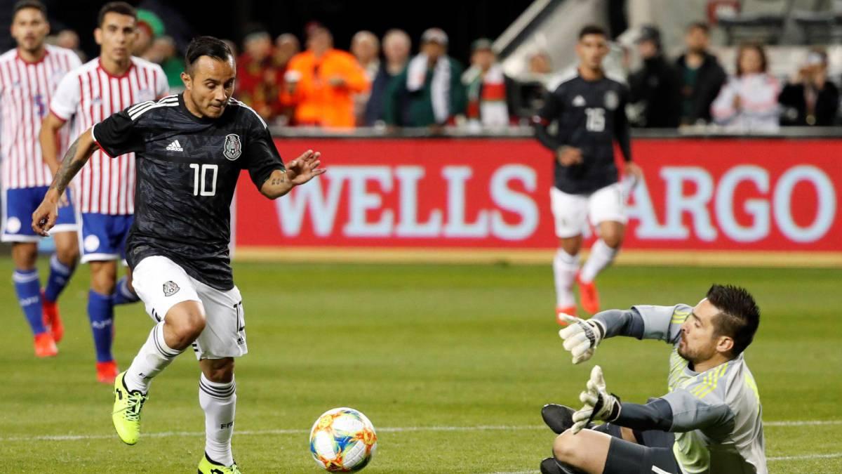 La Selección Mexicana pasa la prueba al ganarle 4-2 a Paraguay