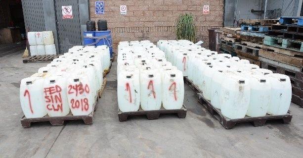 Sinaloa destruye 19 mil sustancias para hacer drogas