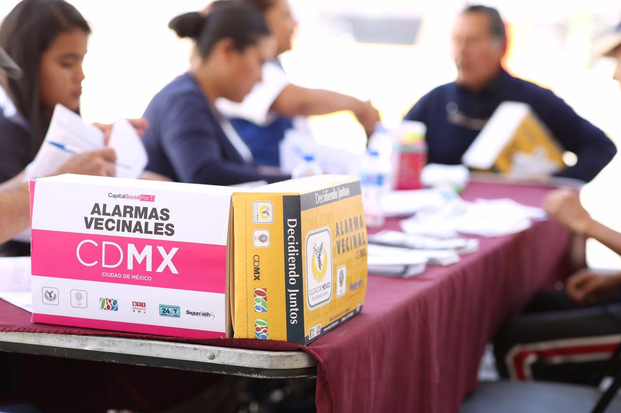Tlalpan realiza 3ra Feria de Prevención del Delito en Lomas de Padierna