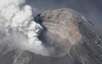 Continúa la Alerta Amarilla Fase 3, por actividad volcánica del Popocatépetl
