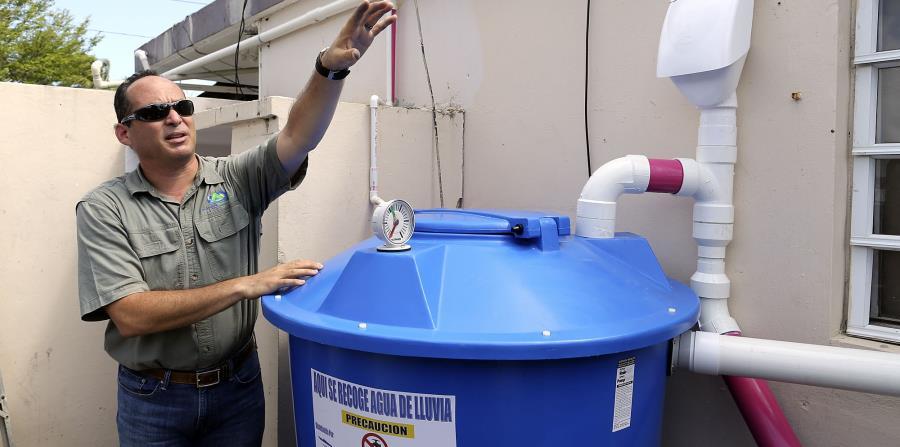 Implementa Gobierno Capitalino el Programa de Sistemas de Captación de Agua de lluvia en viviendas de Iztapalapa