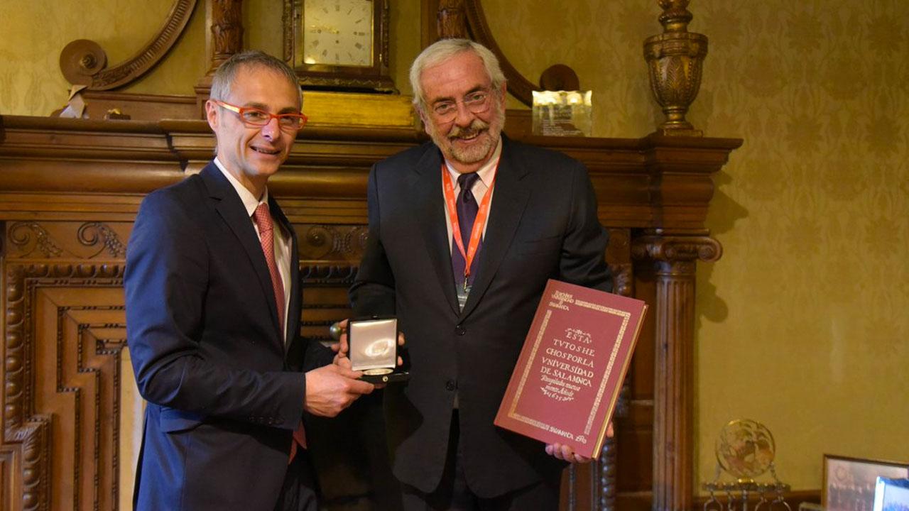 Firma convenio la UNAM y la Universidad de Salamanca