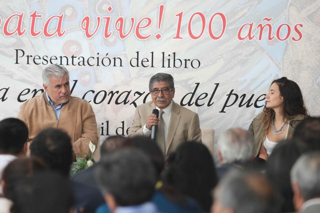 Con el Festival Cultural Zapata Vive conmemora el Senado los 100 años de la muerte del Caudillo del Sur