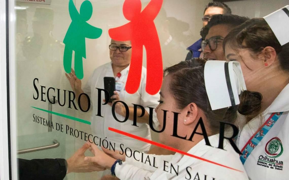 El Seguro Popular ahora será Instituto Mexicano de Salud para el Bienestar
