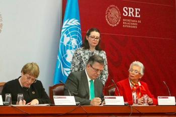 México y ONU firman acuerdo de asesoría para la Guardia Nacional