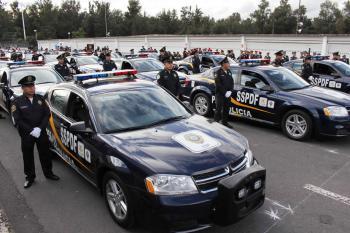 Reforzarán con mil patrullas la seguridad en la CDMX