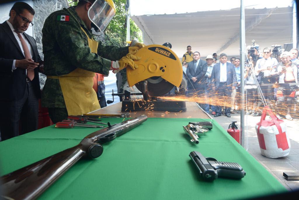 Hoy concluye Sí al Desarme Sí a la Paz en Miguel Hidalgo