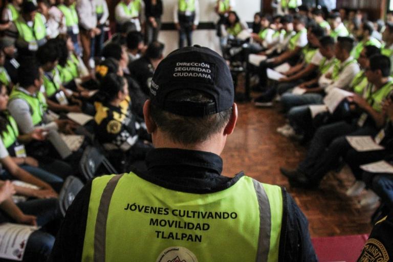 Tlalpan inicia programa de Jóvenes Cultivando Movilidad