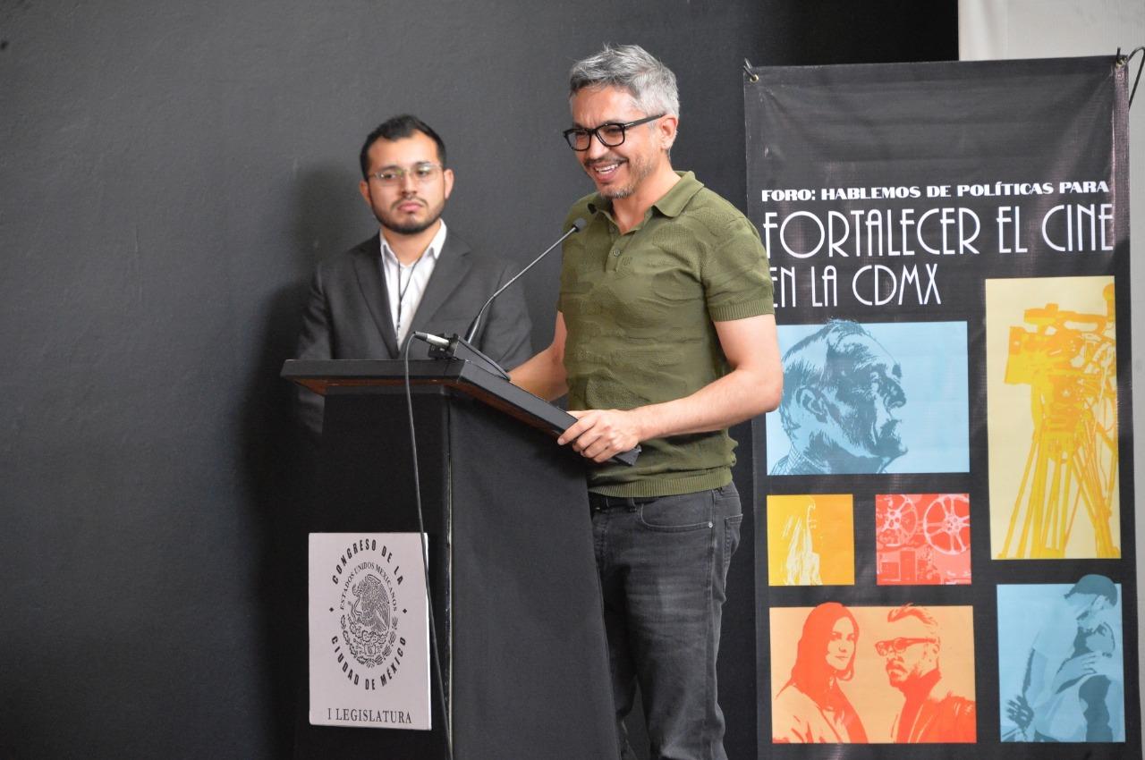 El Congreso capitalino apoyará la producción local de cine y el desarrollo de espacios alternativos para su exhibición